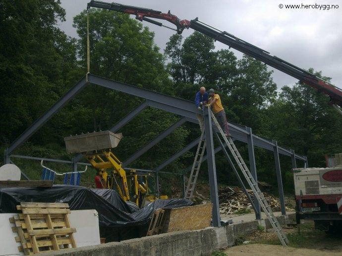 Enorm Tilbud stålhall 10x17 meter - Hero Bygg og Eiendom AS IX-19
