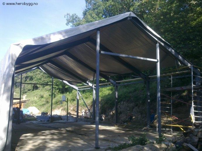 Svært Tilbud stålhall 10x17 meter - Hero Bygg og Eiendom AS IM-22